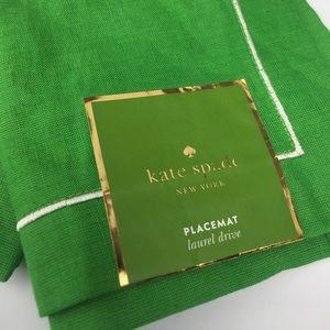 Kate Spade PLACEMAT Set/2 LAUREL DRIVE new pair